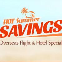 Ctrip: Get HOT Summer Savings off Overseas Flight + Hotel Vacation Bookings Orders