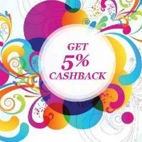 Get 5% Cashback off ALL Prepaid Orders Site-Wide