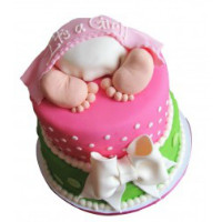 Flaberry: Starting at ₹ 2,999 off BABY SHOWER CAKES Orders