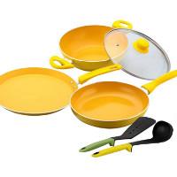 Get 63% off Wonderchef Da Vinci 4 Pcs Non Stick Cookware Set Orders