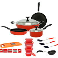 Get 57% off Crystal 16 Pcs Cookware Set Orders