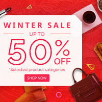 Upto 50% OFF on Winter Sale Orders Site-Wide