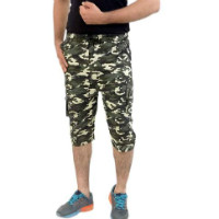 74% OFF on Moglies Cotton Cargo Army Printed Shorts Orders