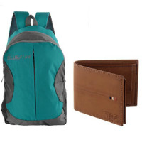 75% OFF on 17L Dusseldorf Bag / Tan Men's Wallet Combo Orders