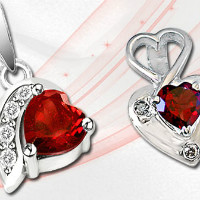 New Arrivals on Red Passion Garnet Jewellery Orders