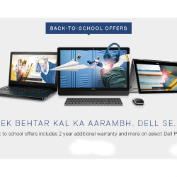 FREE 2-Year Extra Warranty on Back to School Notebooks Orders