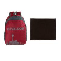 89% OFF on The Blue Pink Dusseldorf Bag & Wallet Combo Orders
