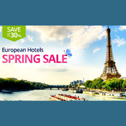 Ctrip: Upto 30% OFF on European Spring Hotels Booking Sale