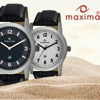 Flat 60% OFF on Maxima Watches Orders this Summer