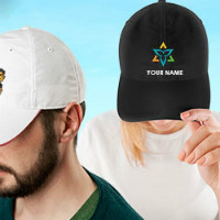 Flat ₹ 90 OFF on Embroidered Caps Orders