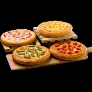 Pizza Hut India: Flat ₹ 395 on Magic Pizza Box of 4 Veg