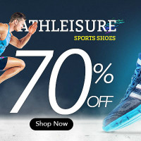 Flat 70% OFF on Athleisure Sports Shoes Orders