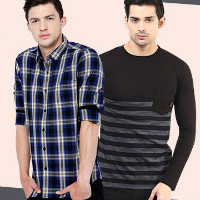 Upto 70% OFF on Men's T-Shirts Orders