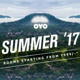 OYO Rooms: From ₹ 999 on Summer '17 Rooms Bookings