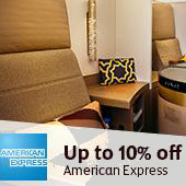 Upto 10% OFF on Flights Bookings Site-Wide for AMEX Customers