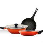 78% OFF on Diamond 4 Piece Premium Non-stick Cookware Set Orders