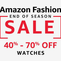 Amazon India: Upto 50% OFF on Timeless Watches !