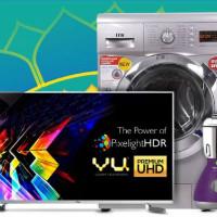 Flipkart: Upto 60% OFF on TV's & Appliances Orders