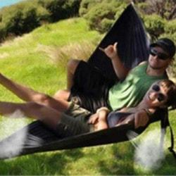 BangGood: Flat 38% OFF on IPRee® Portable 270x140CM Hammock Camping 210T Nylon Double hanging Swing Bed