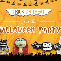 PandaHall: Trick or Treat : Join the Halloween Party !