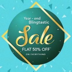 Flat 50% OFF on Year-End Blingtastic SALE !