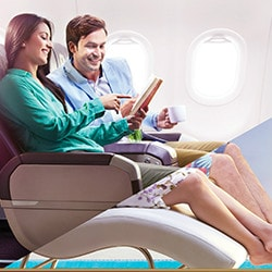 Get up to 50% OFF on Business Class Fares