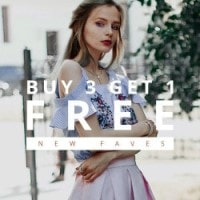 ZAFUL: Buy 3 Get 1 FREE on New Faves Clothing !