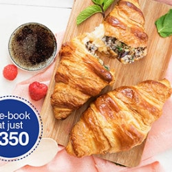 GoAir: From ₹ 350 on Delicious Premium Meals !