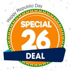 Upto ₹ 400 Cashback on Republic Day Deals