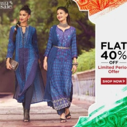 LIMITED : Flat 40% OFF on End of Season SALE !