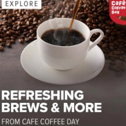 FREE Delivery on Cafe Coffee Day !