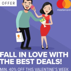 Minimum 40% OFF on Valentine's Week Orders !