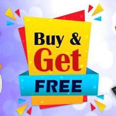 Buy 1 Get 1 FREE - Buy 2 Get 1 FREE & More !