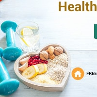 From ₹ 999 on FREE Health Cheak-Ups at Home !