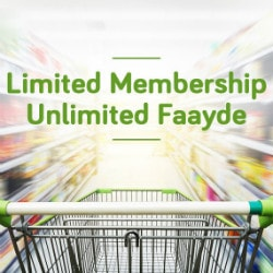 EasyDay: Only 2,000 Members per Store !