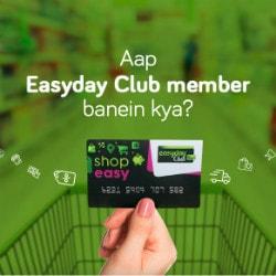 EasyDay: FREE Home Delivery on Faayde Waali Membership