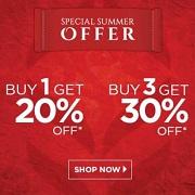Summer Sale: Buy 3 get 30% OFF, Buy 1 get 20% OFF