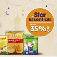 Upto 35% OFF on Star Essentials Orders