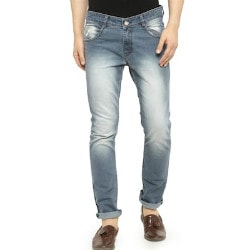 Limeroad: Flat 40% - 60% OFF on Men's Denim Jeans